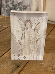 With Brave Wings She Flies 4x6 Acrylic Block