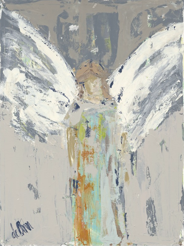 Amelia's Angel - Deann Art