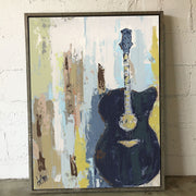 Broadway Blues Framed - Deann Art