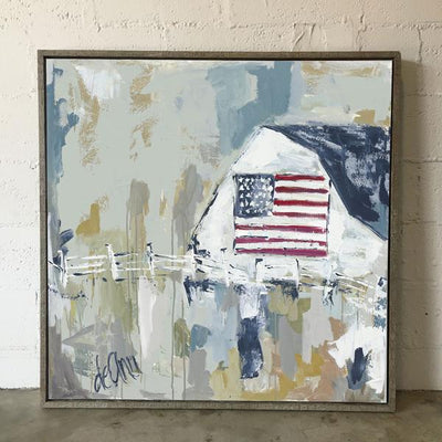 God Bless the Country Framed - Deann Art