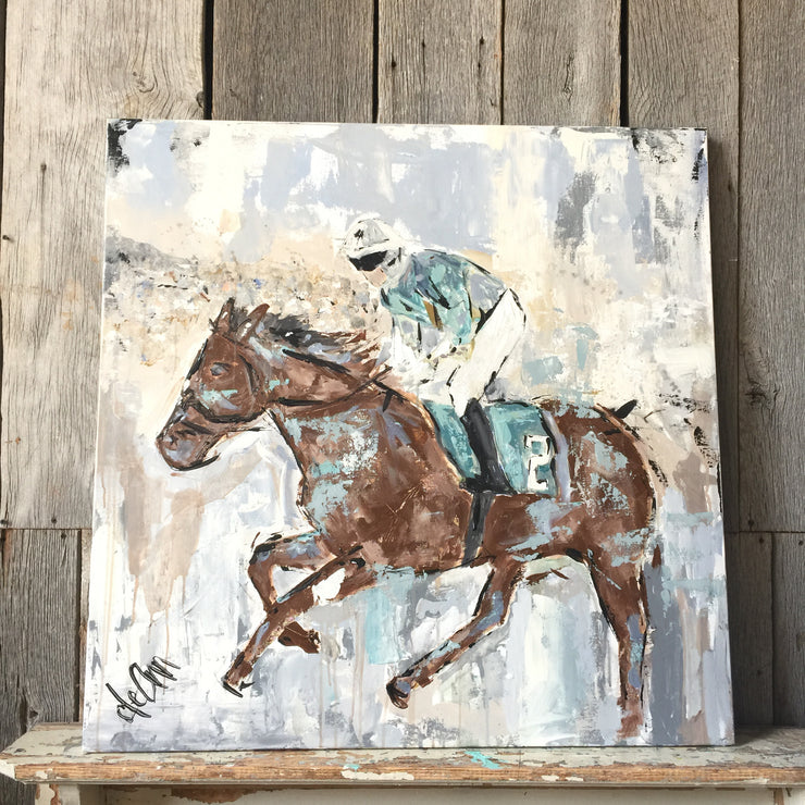 Derby Day - Original - Deann Art
