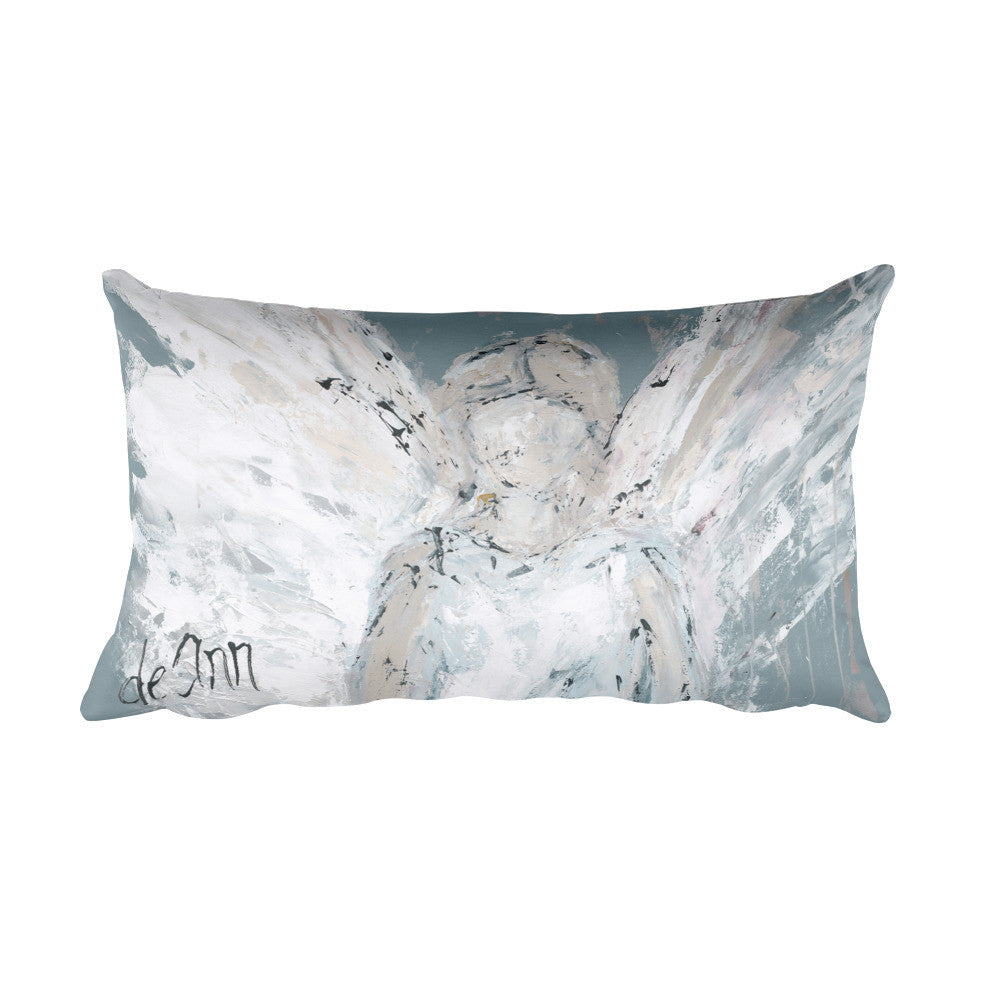 Angel Watching Over You Pillow