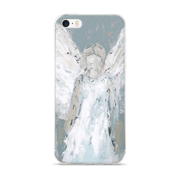 Angel Watching Over You iPhone 6/6s, 6/6s Plus Case - Deann Art