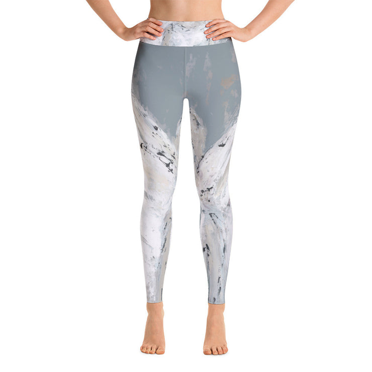 Angel Watching Over You Leggings - Deann Art