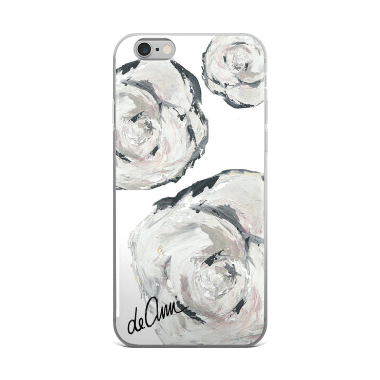 Flowers in Her Hair iPhone 6/6s, 6/6s Plus Case