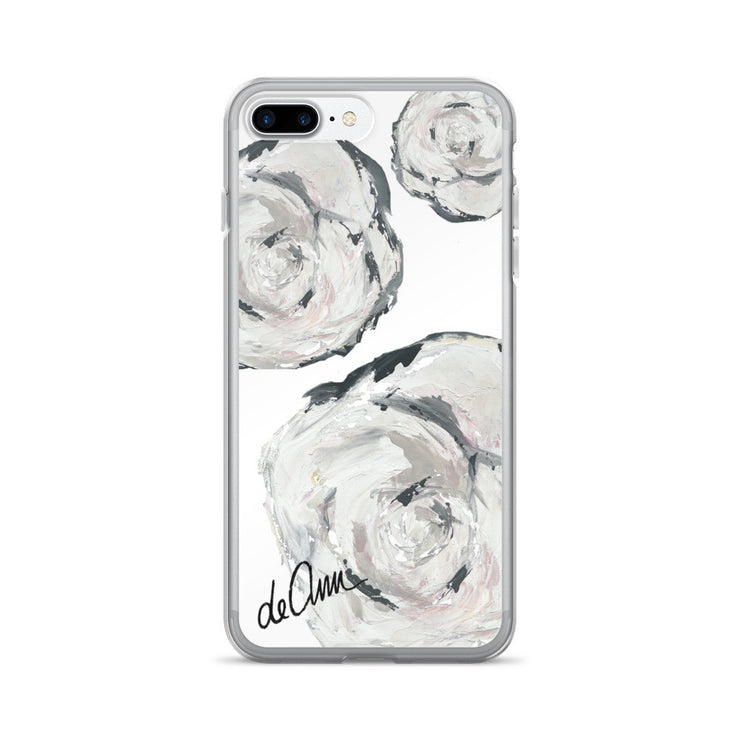 Flowers in Her Hair iPhone 7/7 Plus Case - Deann Art