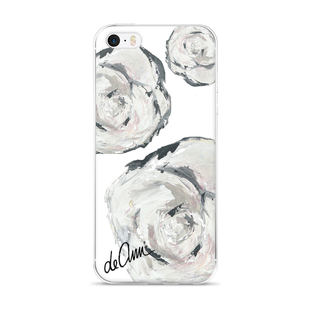 Flowers in Her Hair iPhone 5/5s/Se, 6/6s, 6/6s Plus Case