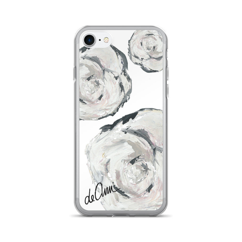 Flowers in Her Hair iPhone 7/7 Plus Case