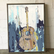 Rustic Strings Framed