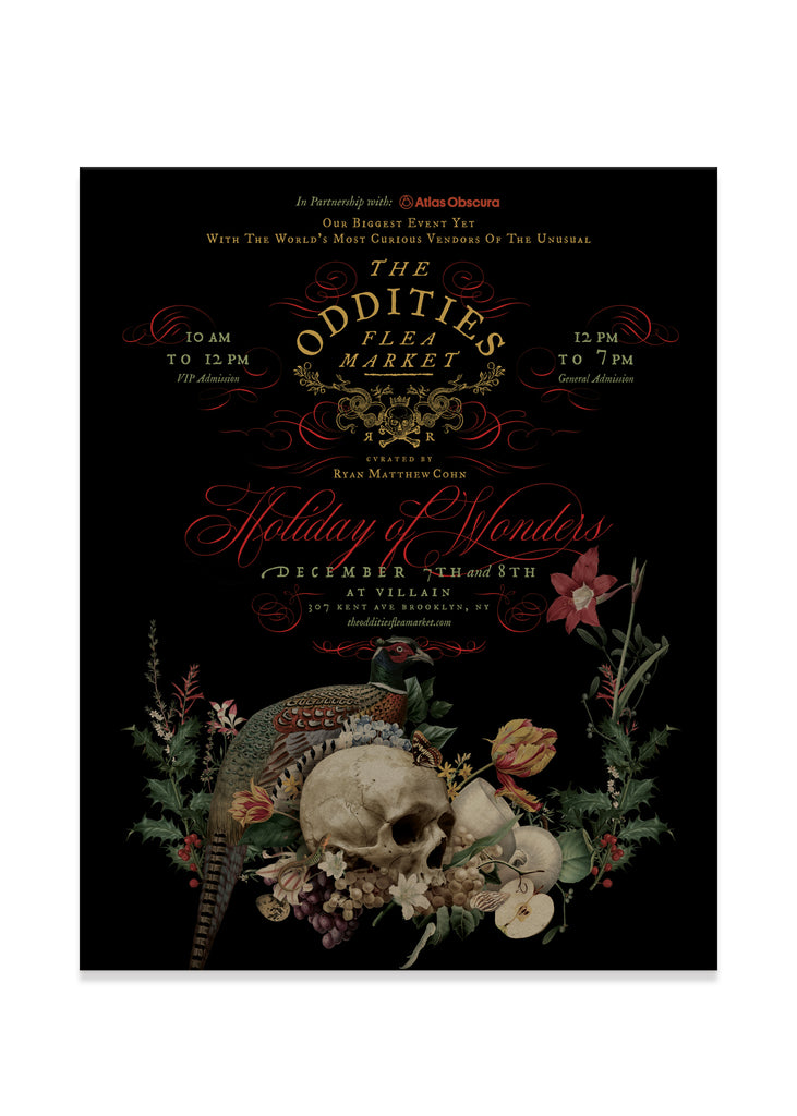 The Oddities Flea Market Poster