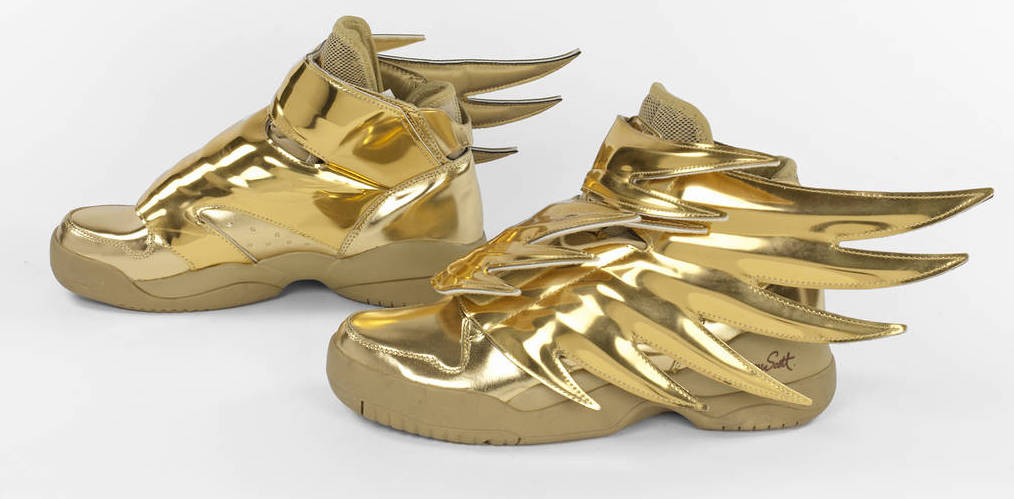 Golden Shoes - check out this exhibit at the Bata Shoe Museum