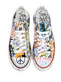 Graffitti sneakers from Vetements