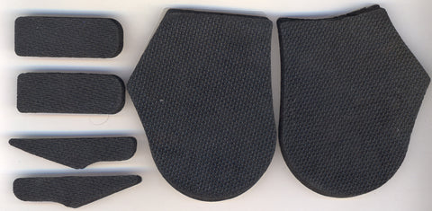Floor Saver (foam-backing pieces) for Jr-sized Brannock devices, except UltraFit + T-bar Junior