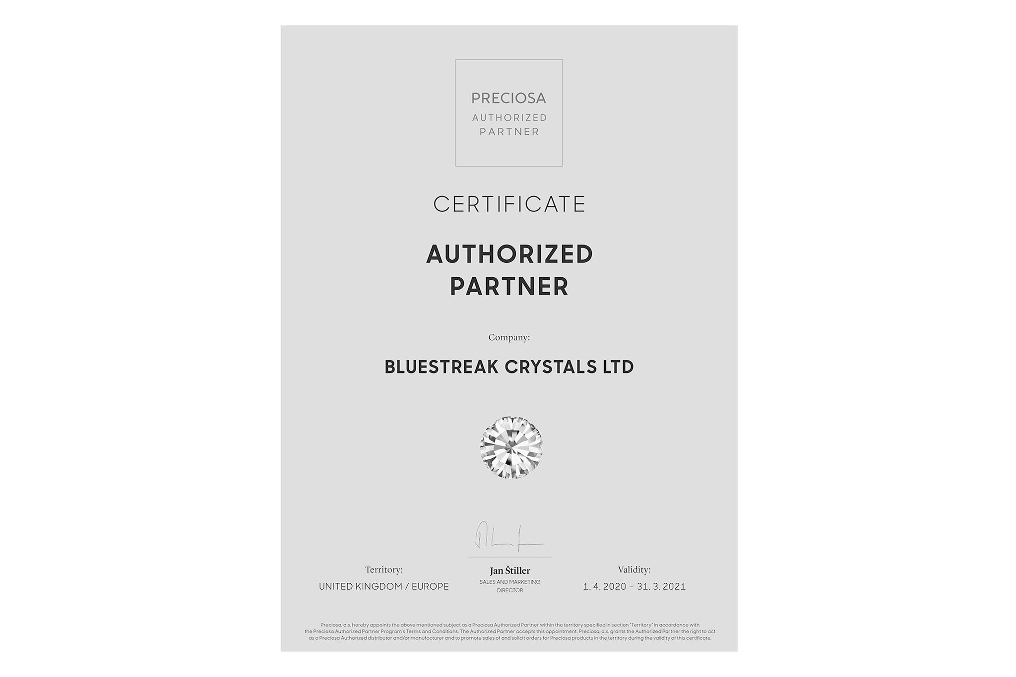 choose from the largest range of Preciosa beads and crystals at bluestreak crystals