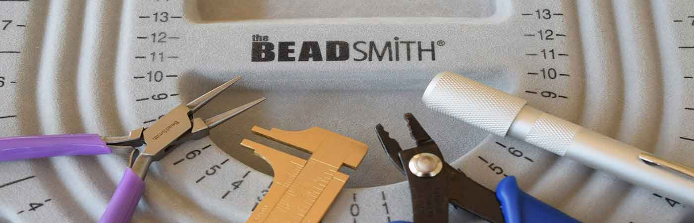 Jewellery making beading trays and tools beadsmith