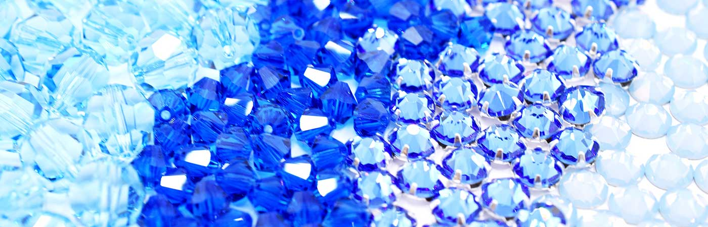 swarovski crystals and beads in our blues collection at bluestreak crystals