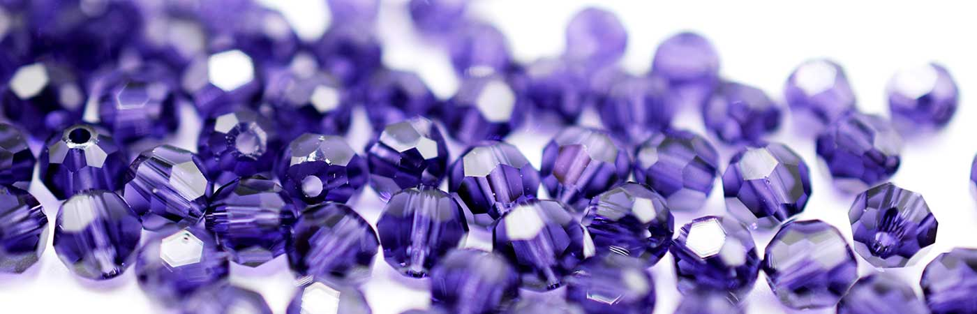 Swarovski® Beads & Crystals in Purples