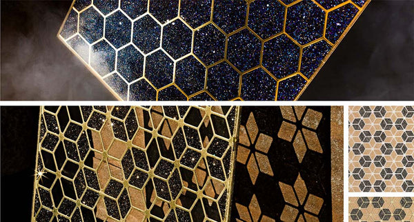 swarovski crystal grid surfaces and interior design for yacht, theatre, hotel, home and business from bluestreak crystals