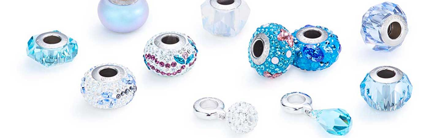 Swarovski® Becharmed & Pavé Charms