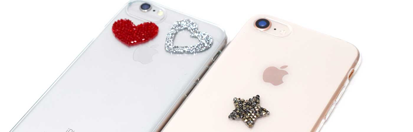 swarovski crystal stickers self adhesive for mobile phone, case, iphone, ipad, tablet and laptop