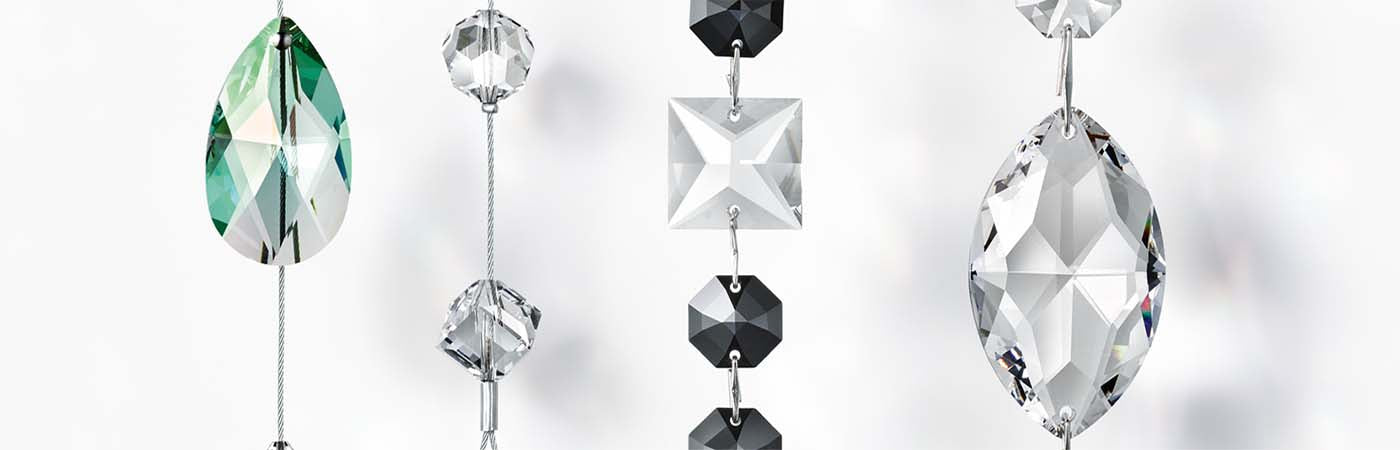 Swarovski Strass® Lighting Crystals & Chandeliers