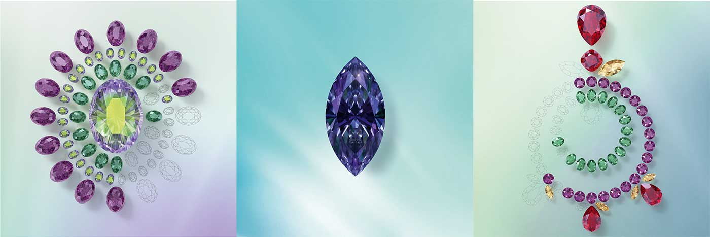 You can purchase the complete range of Swarovski® Innovations for Fall / Winter 2021 - 2022 at bluestreak crystals first