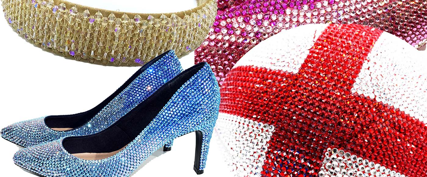 Bluestreak crystals embellishment and repair service - available online now