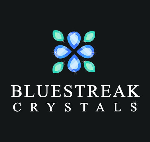 Bluestreak Crystals Logo design Swarovski design service
