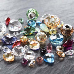 swarovski beads and crystals briolette