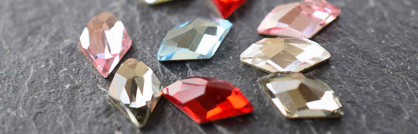 Swarovski Flatback Crystals Hotfix in Mixed Packs