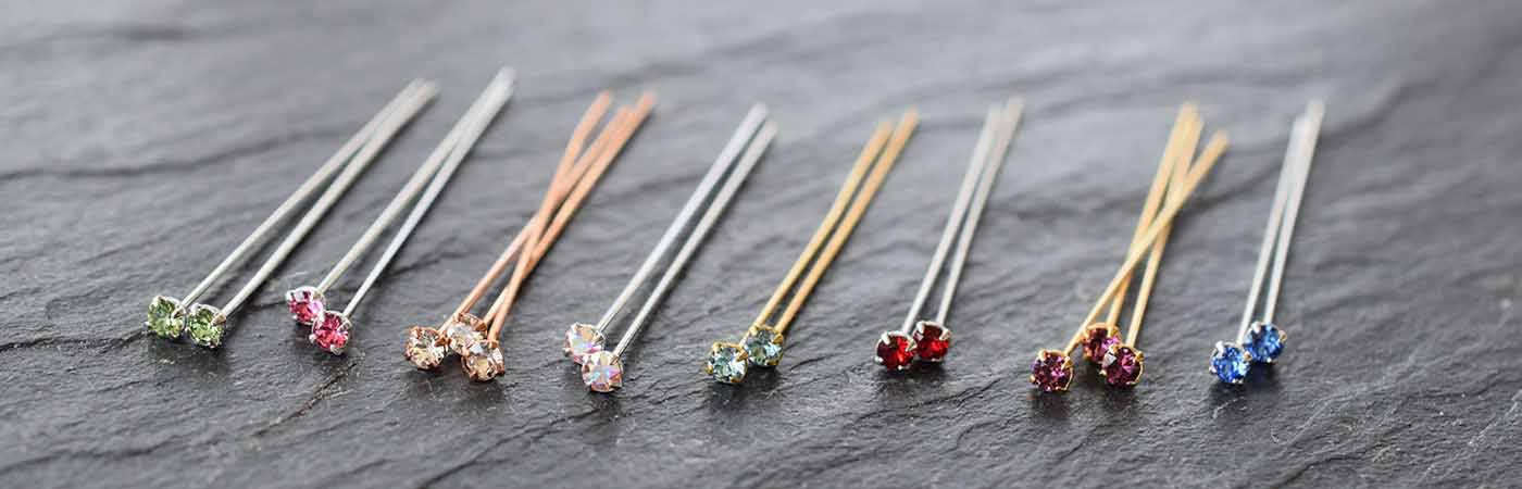 Swarovski Crystal Headpins Findings
