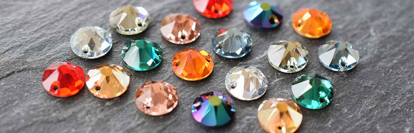 Swarovski Crystal Xirius Sew-on Stones & Crystals