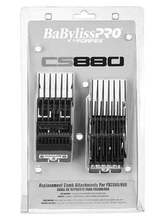 BabylissPro Clipper Guides BaBylissPro By Forfex Attachment Combs 8 Pack