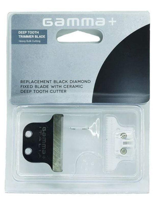 Gamma+ Trimmer Blade Gamma+ Trimmer DLC fixed blade with Ceramic Deep Tooth Cutter #GPAHRBDC