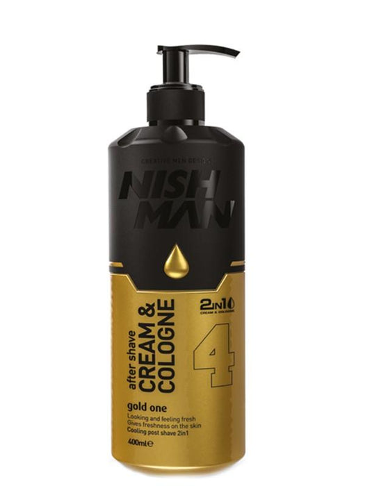 Nishman AfterShave New Gold One 04 Nishman Aftershave Cream and Cologne 2-in-1
