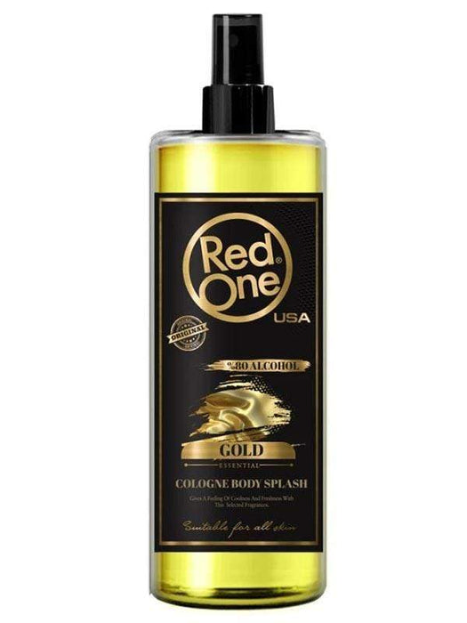 RedOne AfterShave Gold RedOne After Shave Cologne Body Splash 400ml