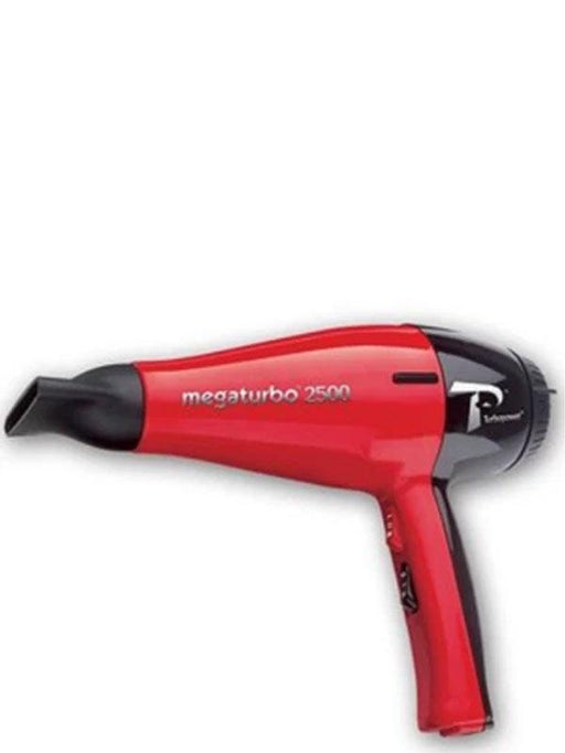 Turbo Power Hair Dryer Turbo Power Mega Turbo 2500 Professional Red and Black Hair Dryer 311