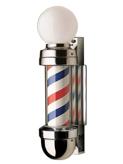 William Marvy Company Barber Pole William Marvy Model 410 Barber Pole with Two Lights