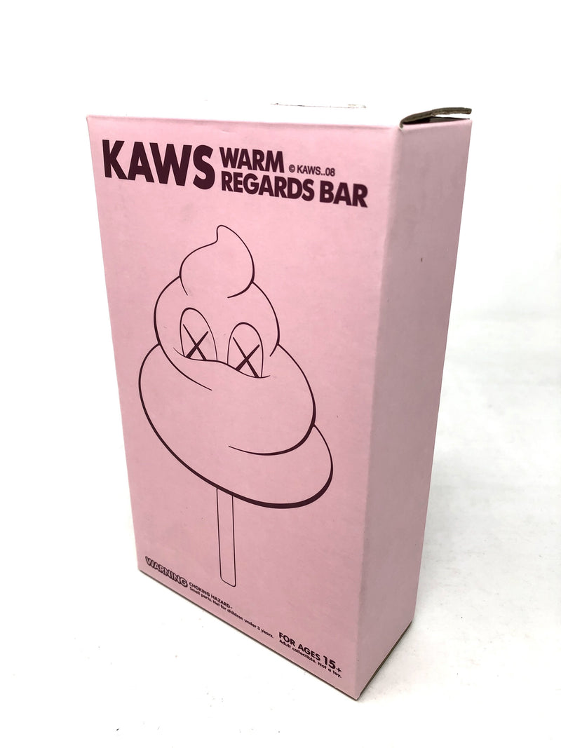 KAWS Warm Regards Bar <Original Fake> Medicom Toy PINK - BOOKOFF USA