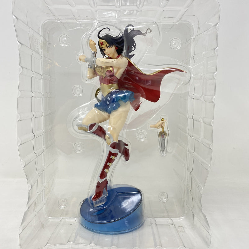 DC Comic Bishoujo Statue Armred Wonder Woman - BOOKOFF USA
