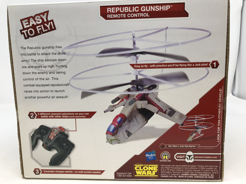 Star Wars : Republic Gunship Easy to Fly Indoor RC - BOOKOFF USA