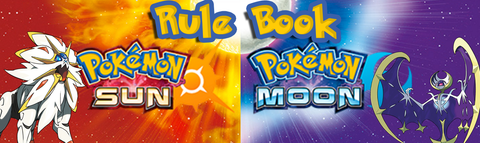 Pokemon Sun & Moon Rule Book