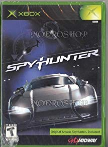 Spy Hunter Xbox (with book)
