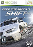 Need for Speed Shift Xbox 360 (with book)