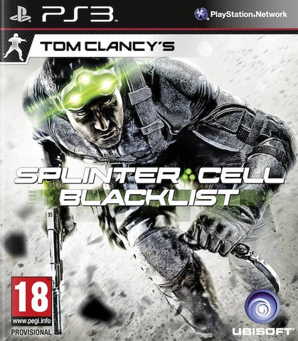 Tom Clancy's Splinter Cell Black List PS3 (Book Included)