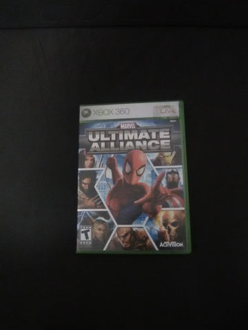 Marvel Ultimate Alliance (with book)