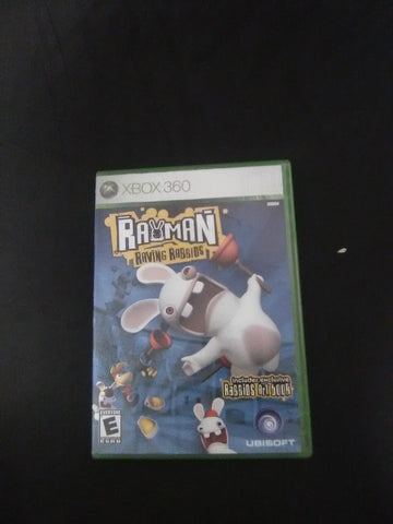 Rayman Raving Rabbids (with book)