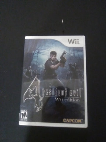 Resident Evil 4 - Wii Edition (with book)