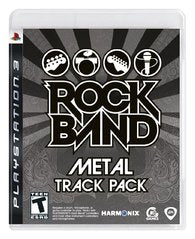 Rock Band Track Pack: Metal Playstation 3