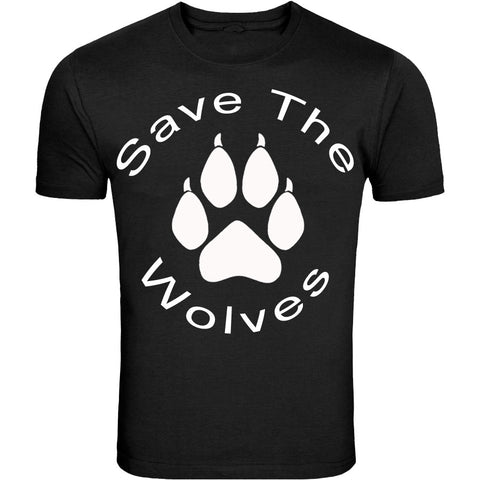Save The Wolves Design